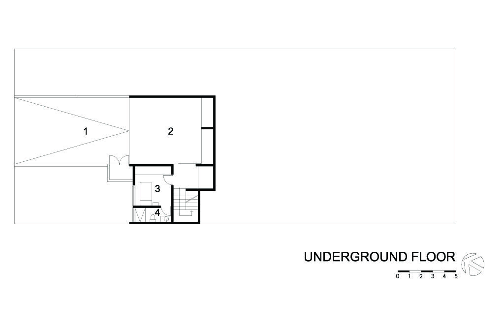 G House Undeground Floor