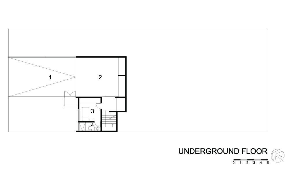 G House Undeground Floor