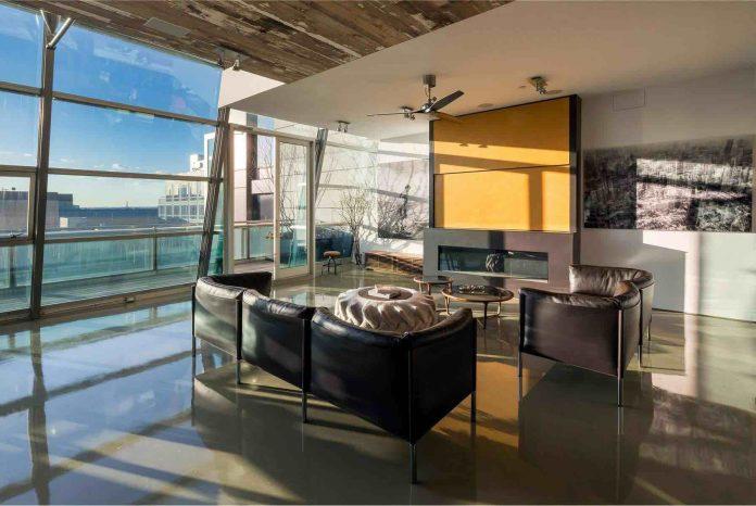Greenwich Street Penthouse Design in SoHo