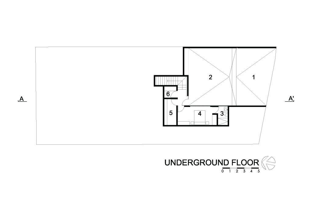 HG House Underground Floor
