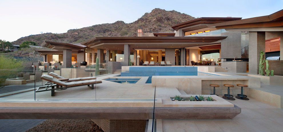 Home In Paradise Valley By Swaback Partners And David Michael Miller  Associates. Home Design