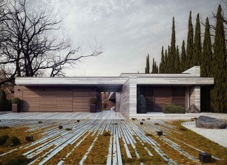 Horizontal House by 81.WAW.PL and rendered by graphic designer Michal Nowak