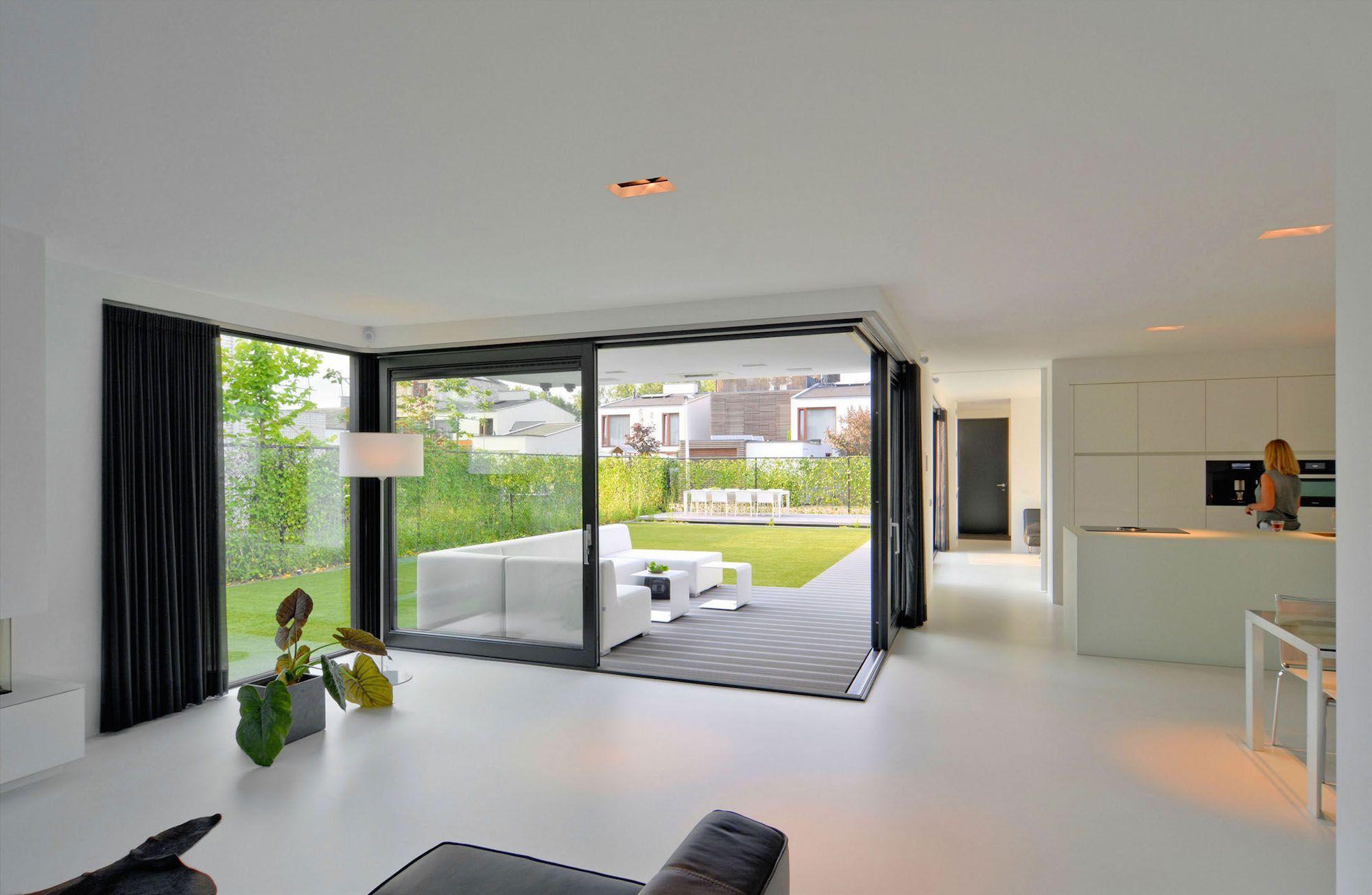House k n by ckx architecten caandesign architecture for Interieur architecten
