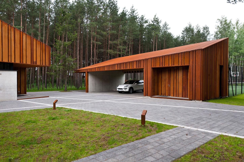 Kaunas Wood House By Studija Archispektras Caandesign