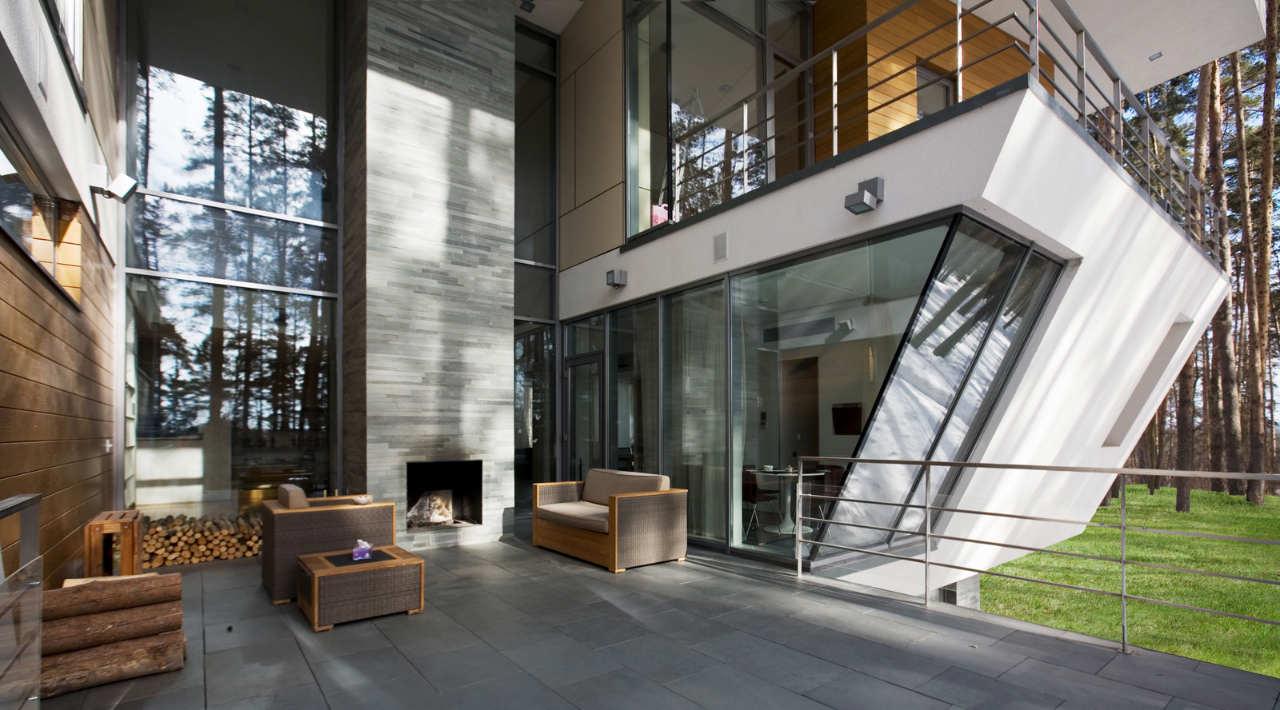 Contemporary House Near Moscow By Atrium Architects: Gorki House Near Moscow By Atrium Architects