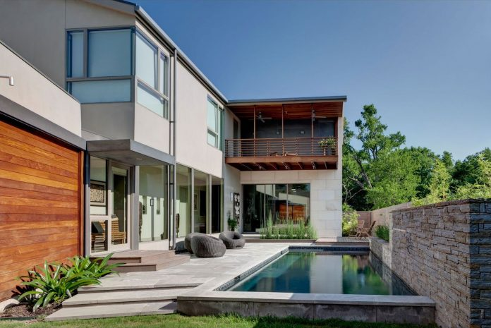 House of Three Rooms by Marc McCollom Architect