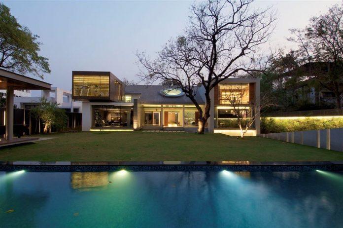 Hyderabad House by Rajiv Saini & Associates
