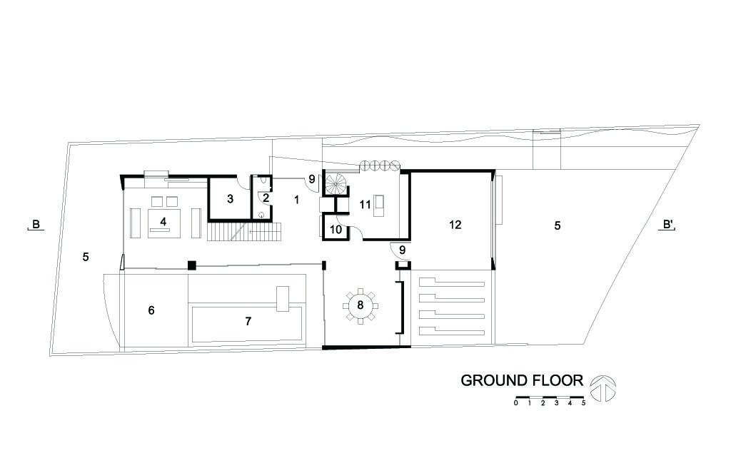 I House Ground Floor