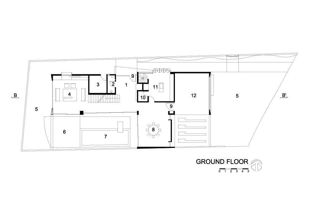 I House Ground Floor