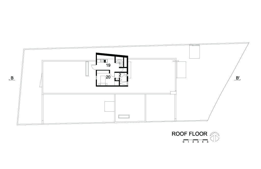 I House Roof Floor