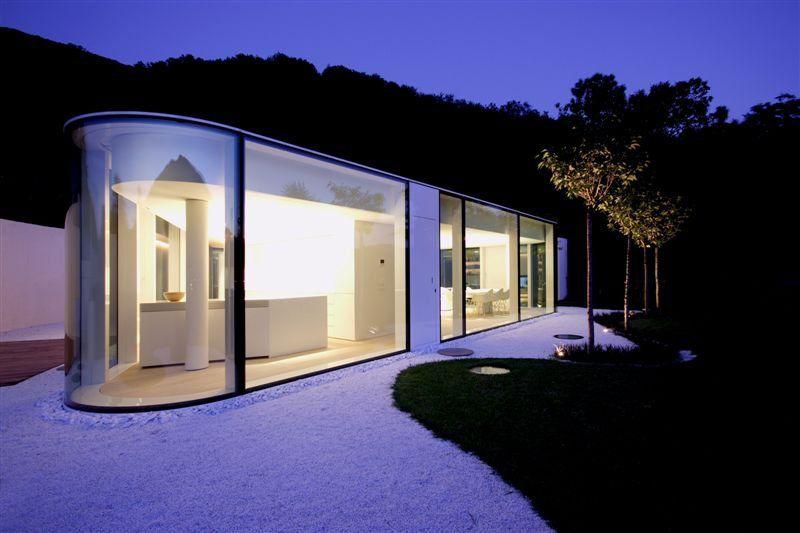 Modern Lake Lugano House by JM Architecture