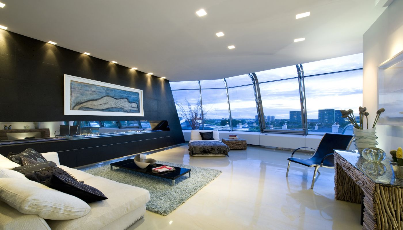 The Penthouse in London by Richard Hywel Evans Architects ...