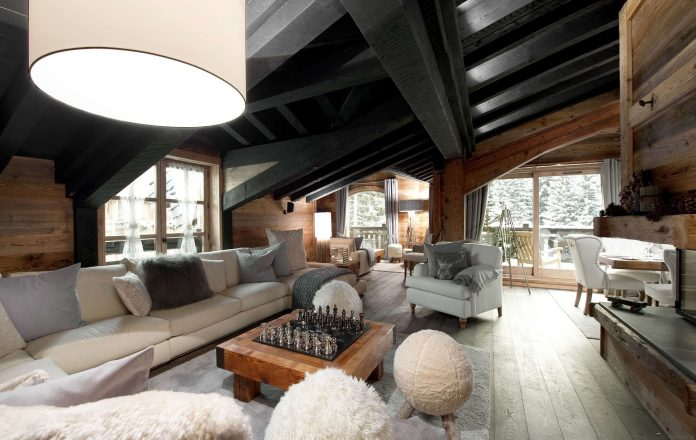 The Petit Luxury Chateau in Courchevel