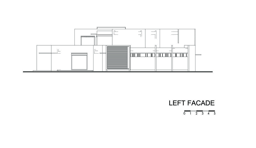 Left Facade