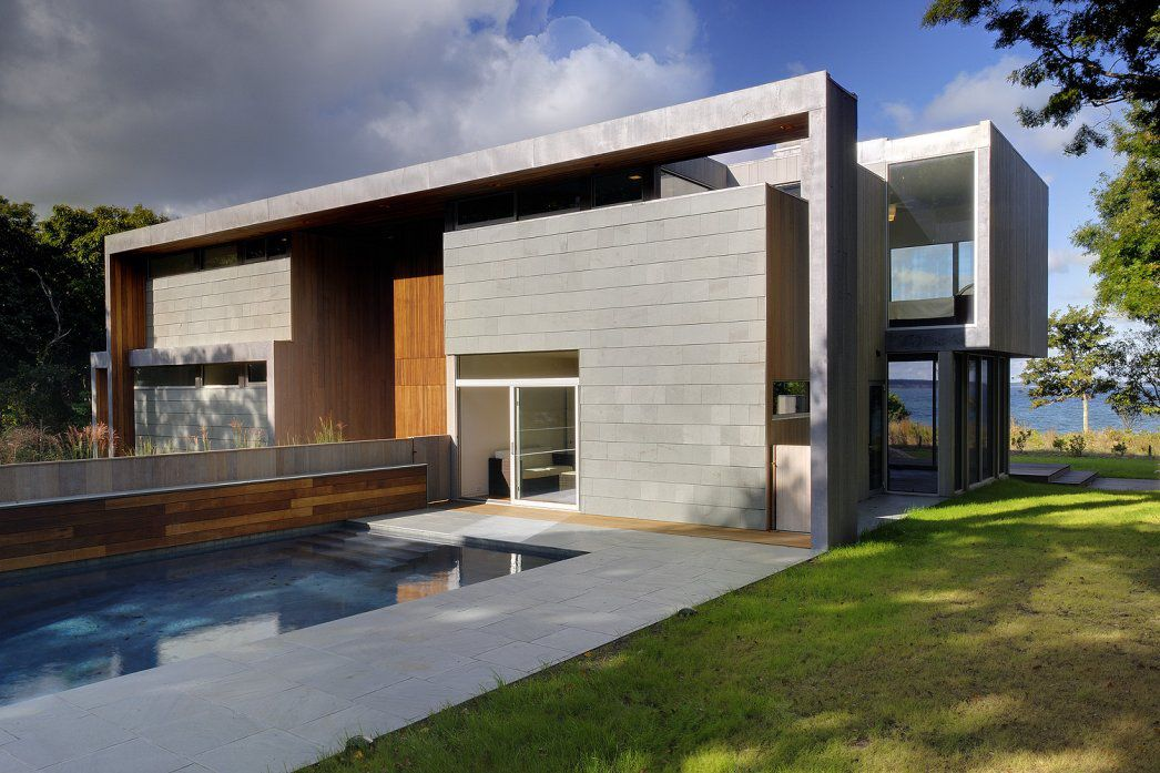Lion s head residence by bates masi architects for American modern house design