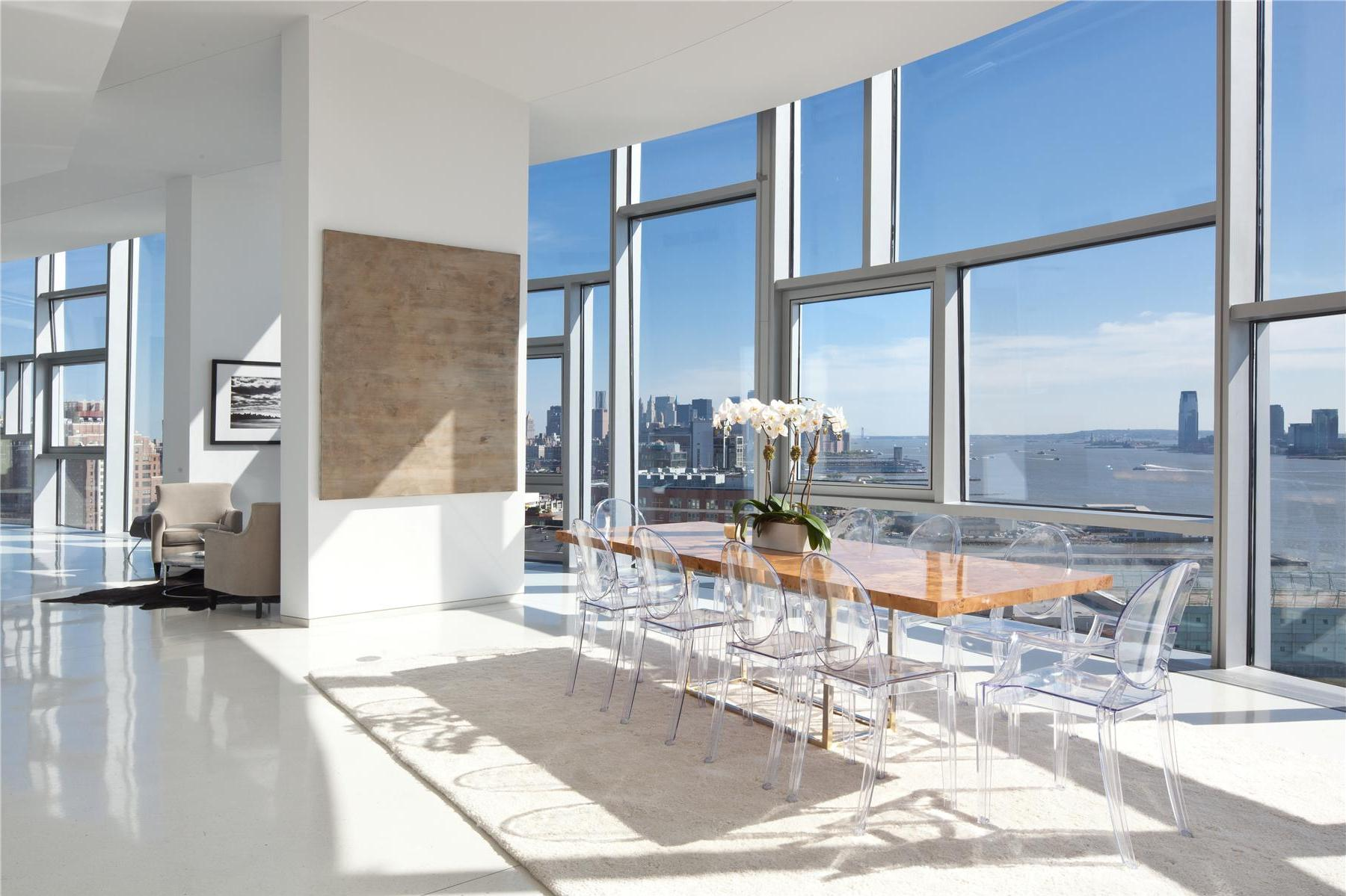 Luxury 100 eleneth avenue penthouse in manhattan for Penthouses for sale in manhattan