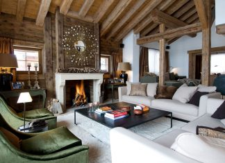 Luxury Chalet Dent Blanche in Valais