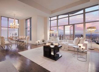 Luxury Penthouse in The Carlyle Residences by Premier Stagers