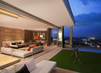 Luxury Sandhurst Towers Penthouse in Johannesburg by SAOTA and OKHA Interiors