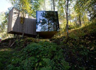 Minimalist Juvet Landscape Hotel in Norway by Jensen & Skodvin Arkitektkontor