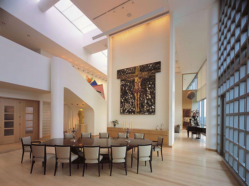 Miranova Penthouse by Gwathmey Siegel & Associates Architects