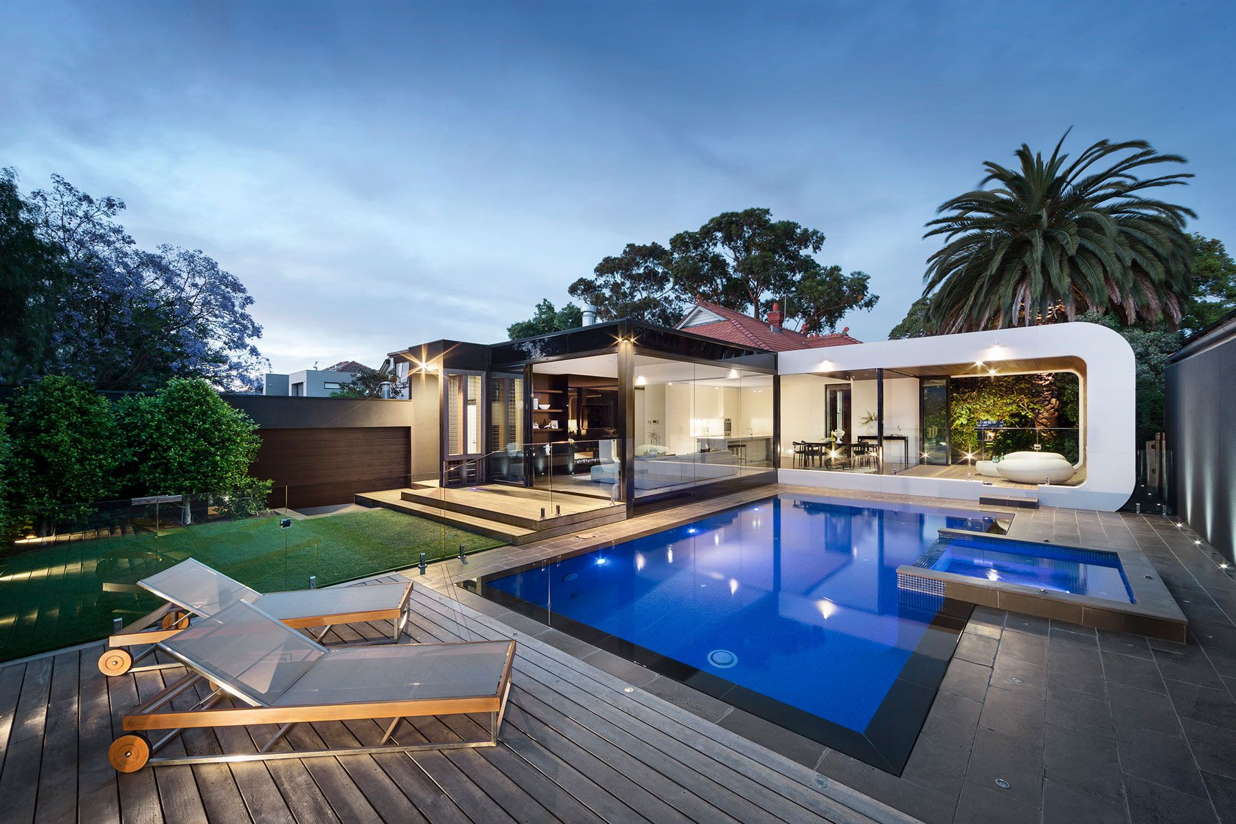Modern curva house by lsa architects caandesign for Modern home design blog
