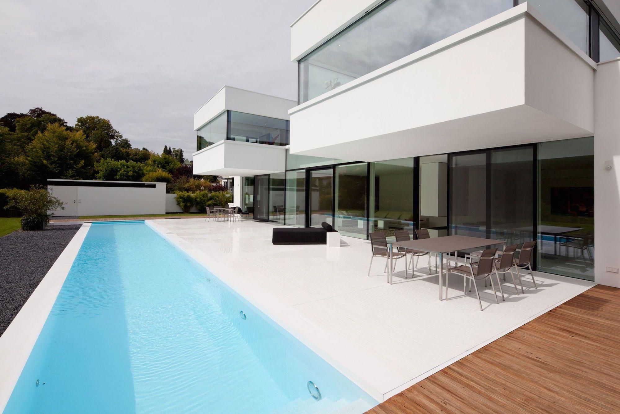 The Modern HI MACS House by Karl Dreer and Bemb Dellinger