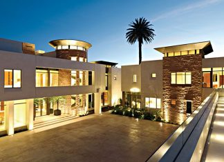 Modern KFA Residence in Bel Air by Landry Design Group