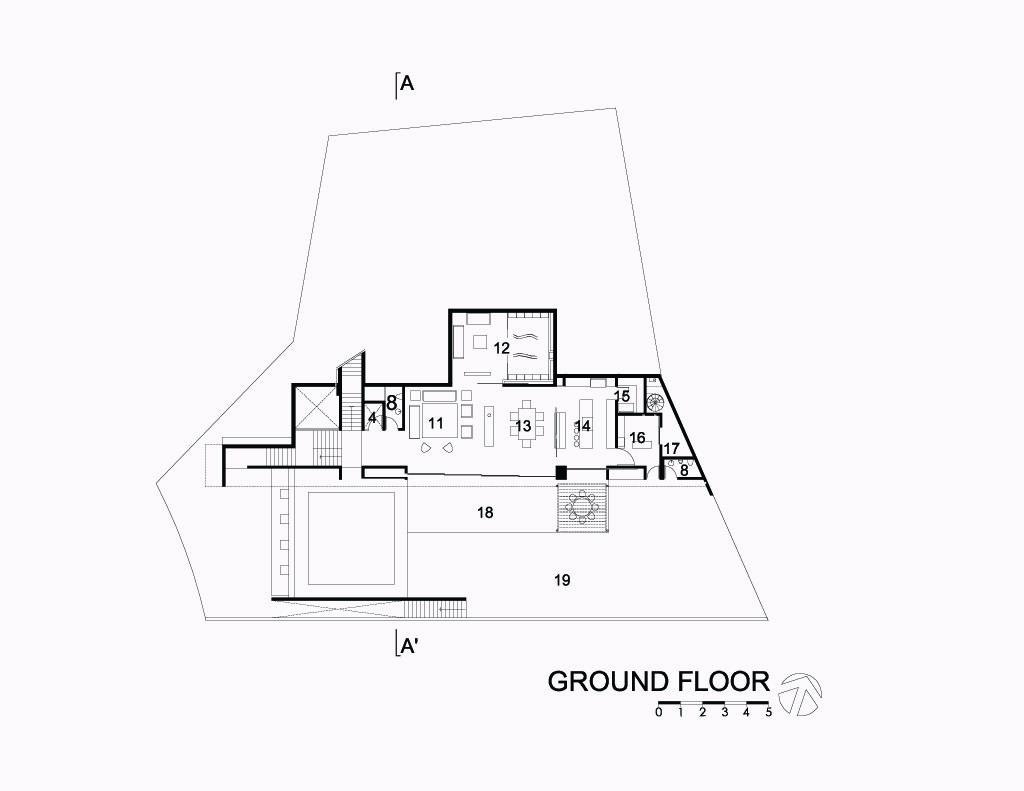 Mountain House Ground Floor
