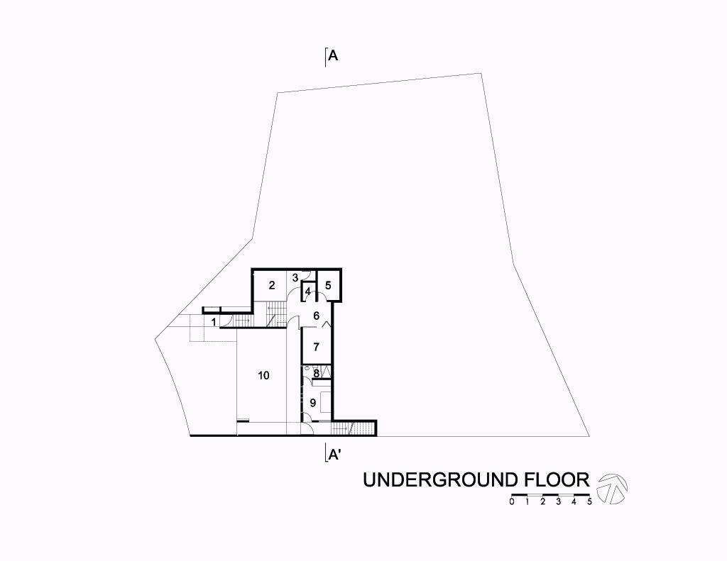 Mountain House Underground Floor