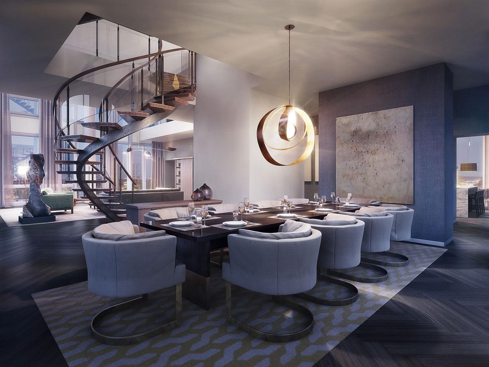 One Madison New York rupert murdoch's $57.25 million one madison triplex penthouse