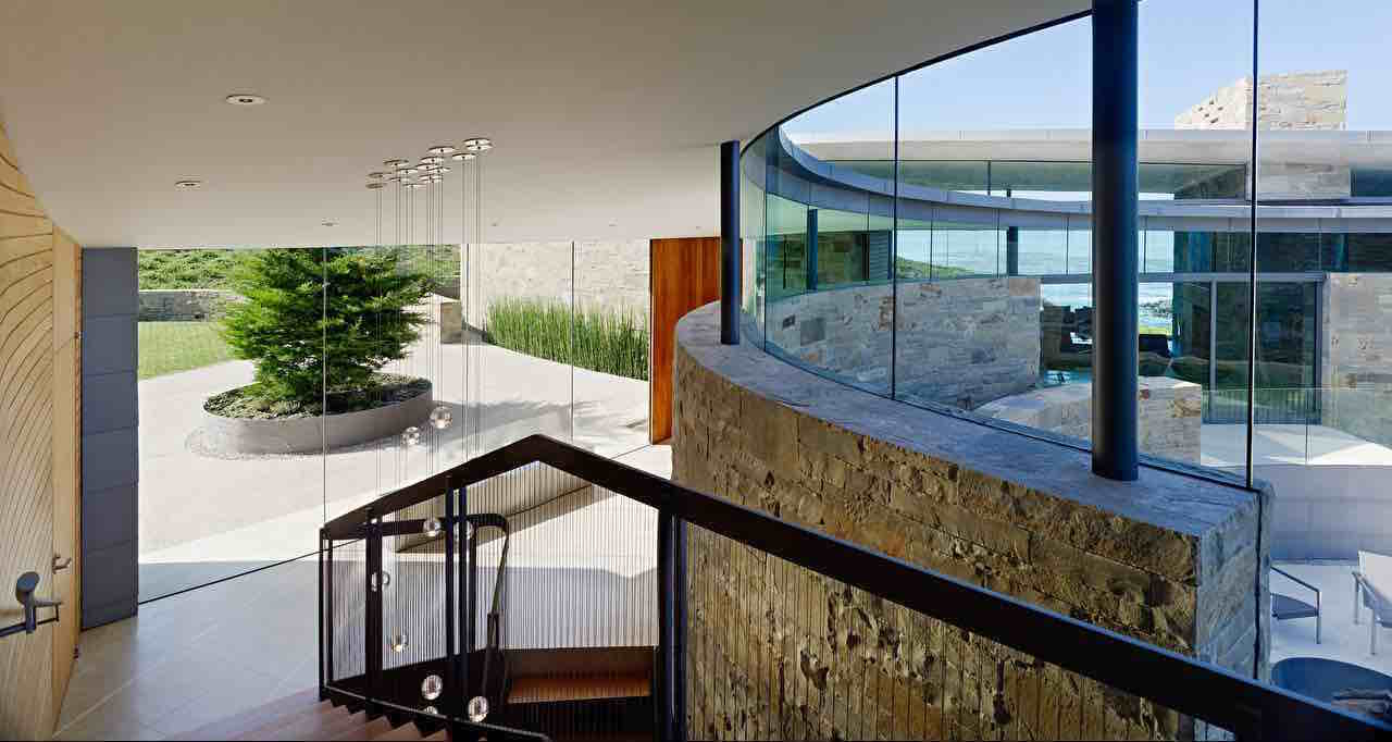 Otter cove residence by sagan piechota architecture for Large house windows for sale