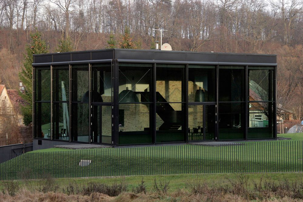 Glass House In Lithuania By G Natkevicius Partners