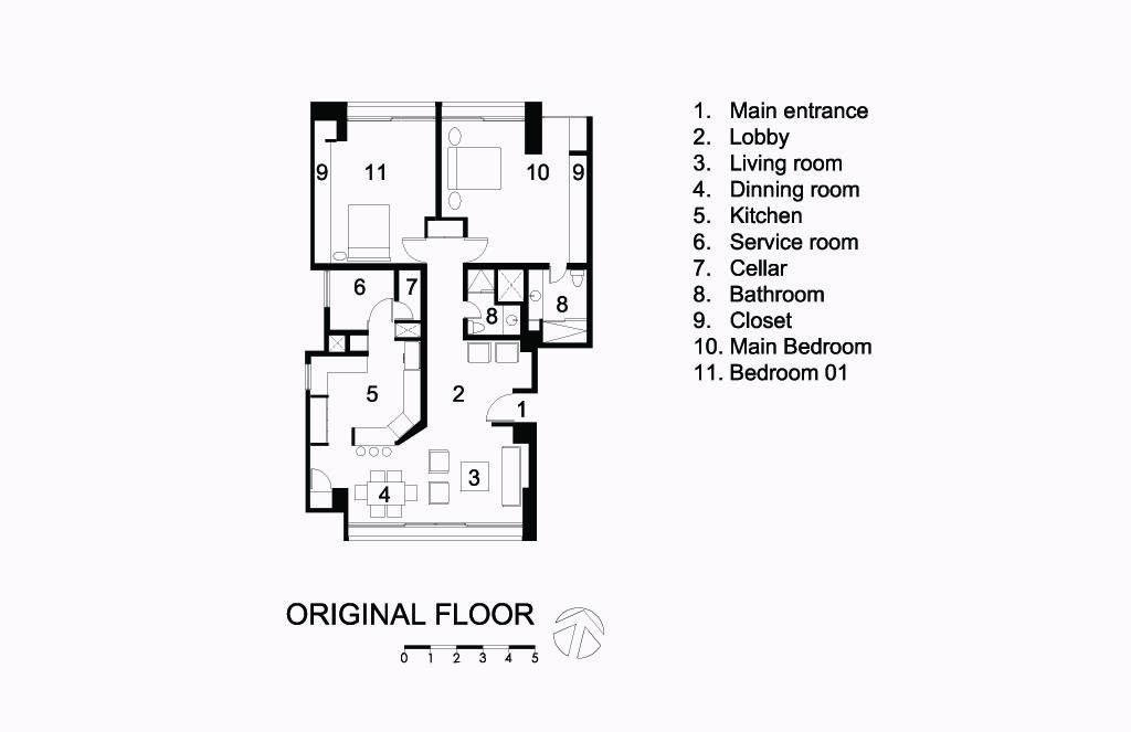 Piso 11 Original Floor