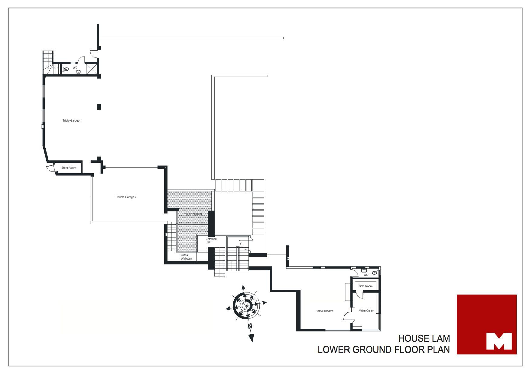 Plan - Lower Ground Floor