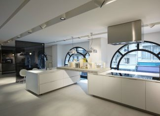 Poliform Showroom Paris by Bestetti Associati Studio