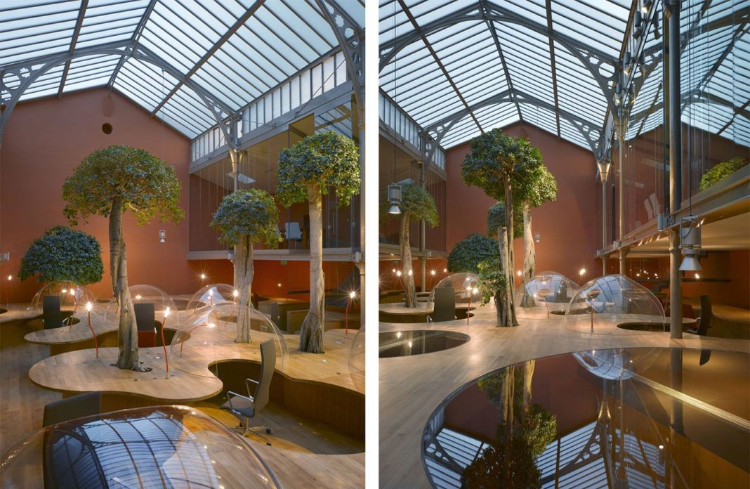 Pons + Huot Offices in Paris by Christian Pottgiesser