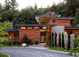 Portland Skyline by Nathan Good Architects