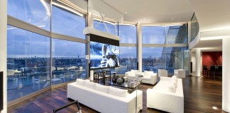 Riverside Penthouse by Richard Meier