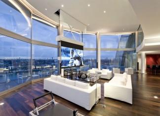Riverside Penthouse by Richard Meier