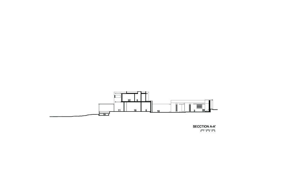 SJC House Section A-A'