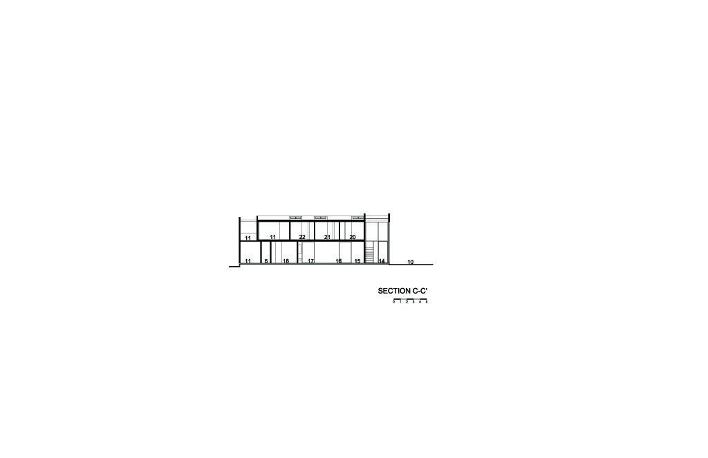 SJC House Section C-C'
