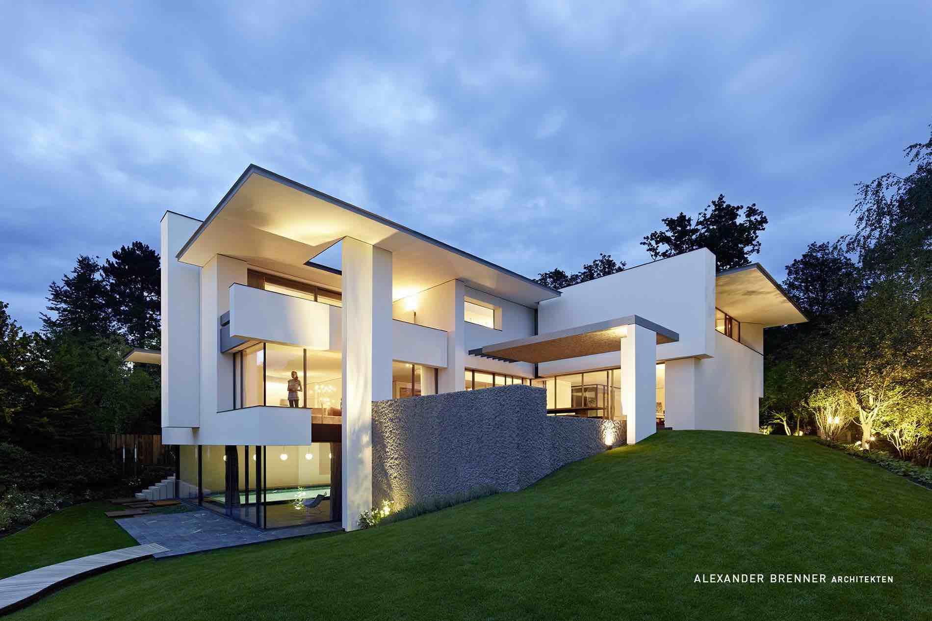 SU House Design by Alexander Brenner Architekten