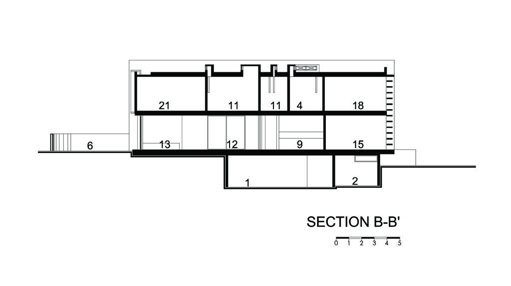 Section B-B'