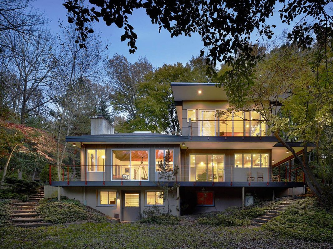 Seidenberg House by Metcalfe Architecture & Design