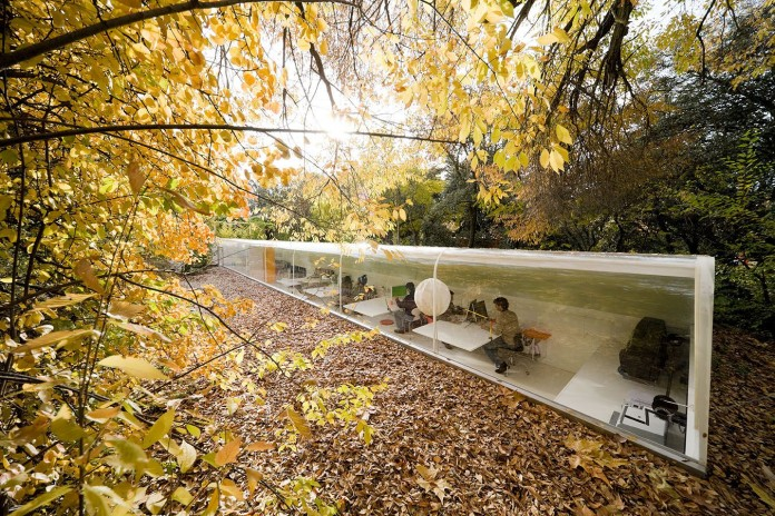 Studio in the woods in Madrid, Spain by Selgascano Arquitectos
