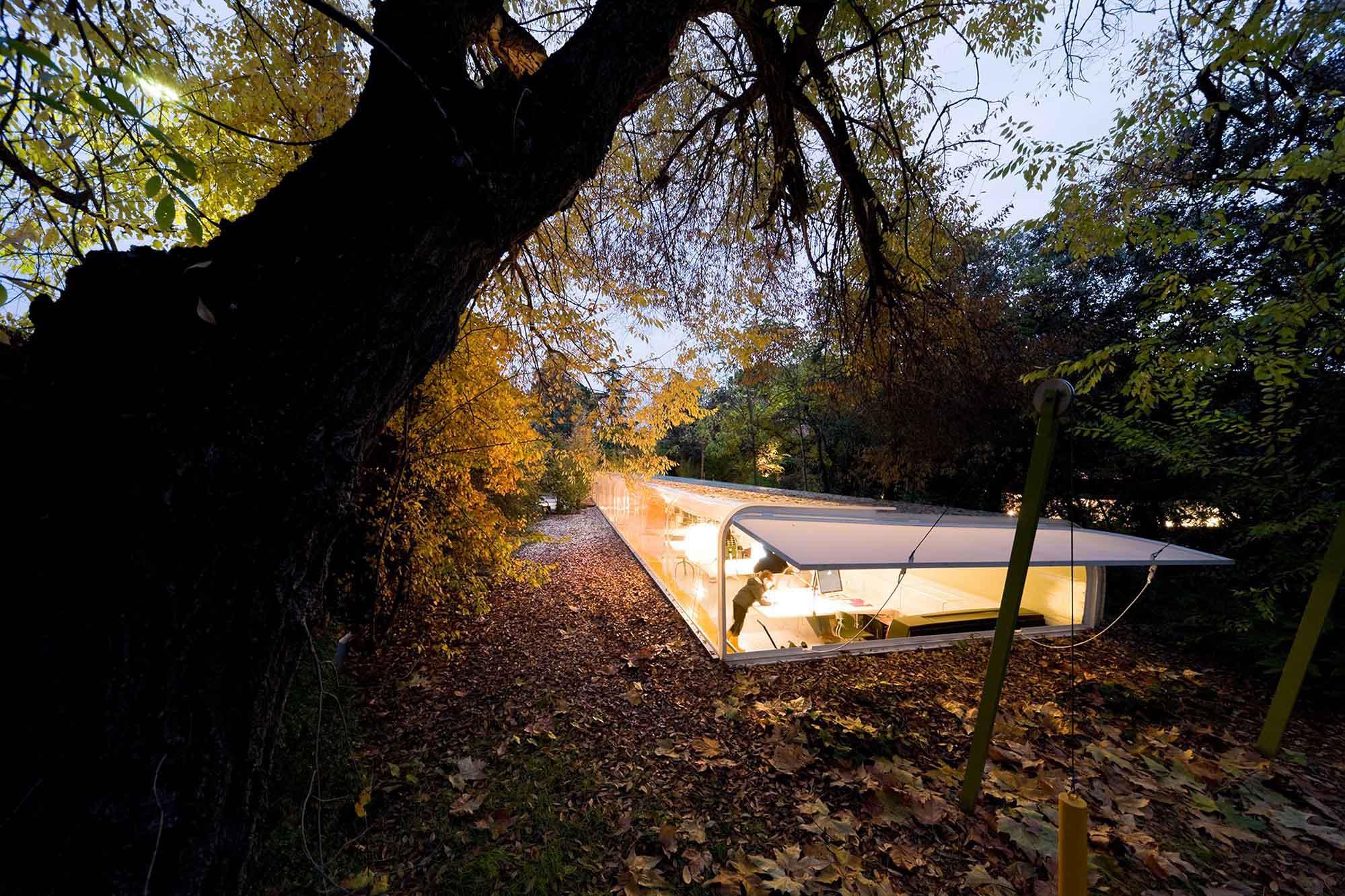 Studio In The Woods In Madrid By Selgascano Arquitectos