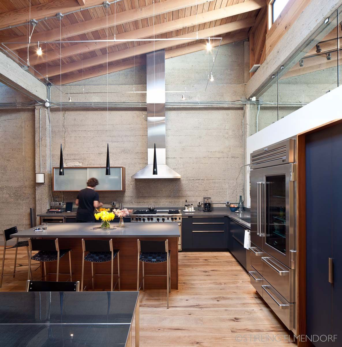 Serendipity Refined Blog Contemporary Apartment Small Bath Makeover: SF Loft By Wardell + Sagan Projekt - CAANdesign