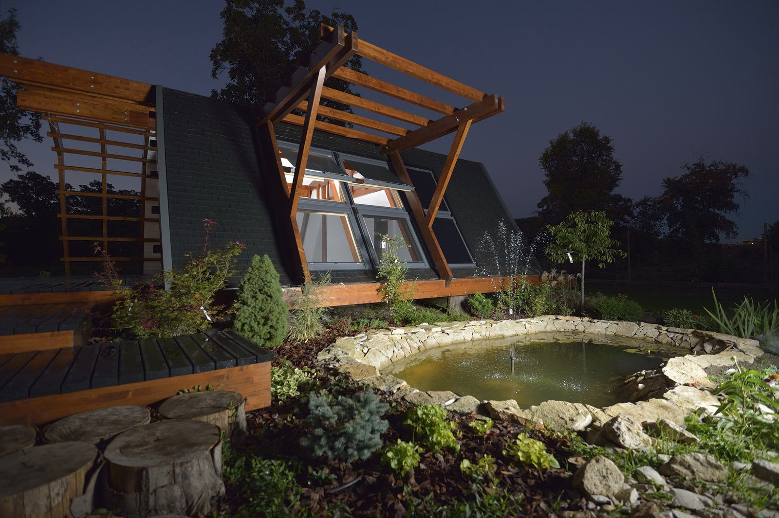 Soleta zeroenergy sustainable wooden house ecologic home dwell fachwerk prefab homes ANSONIA 03