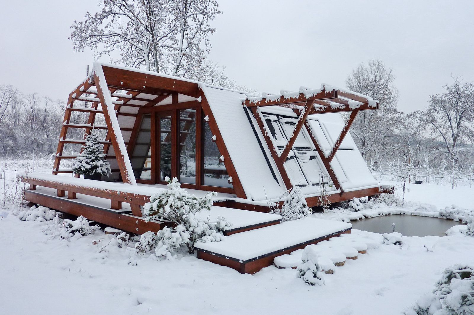 Soleta zeroenergy sustainable wooden house ecologic home dwell fachwerk prefab homes ANSONIA 07